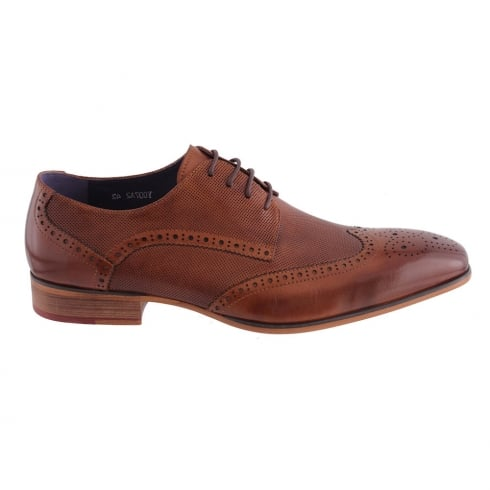 Morgan & Co Morgan&Co Tan Leather Brogue Mens