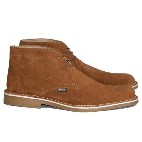 Lambretta Carnaby 2 Desert Gum Suede Mens Lace Up Boots