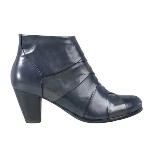 Regarde Le Ciel Womens Navy Leather