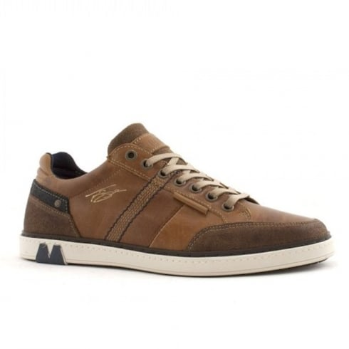 Lloyde & Pryce - Tommy Bowe Lloyd & Pryce Mens Dickinson Camel Lace Up Leather Shoes