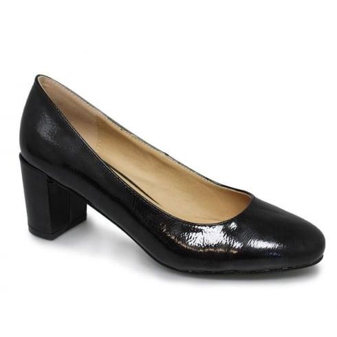 Lunar Hesta Women Black Low Heel Court