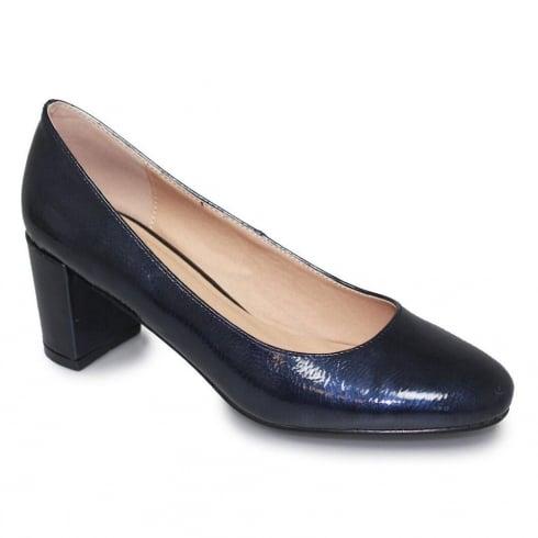 Lunar Hesta Women Blue Low Heel Court