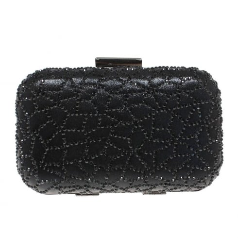 Lunar Womens Caroline Black Clutch Bag
