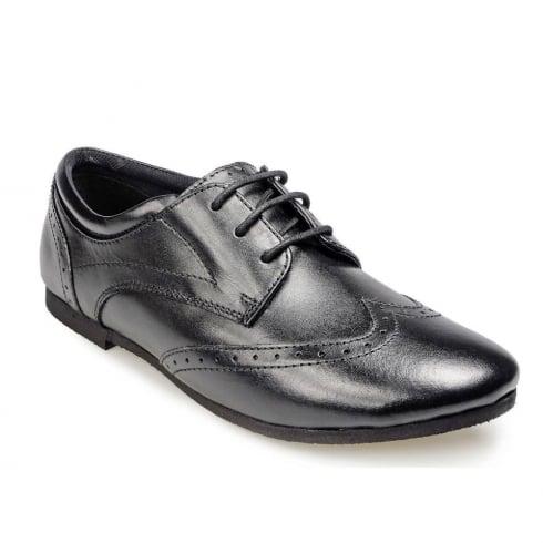 POD Girlsl Tina Black Leather Shoes