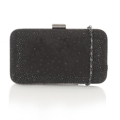 Lotus Lule Diamante Clutch Bag - Black - 1633