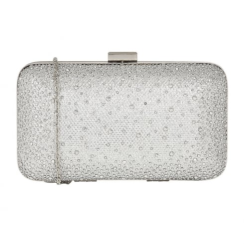 Lotus Diamante Lule Clutch Bag - Silver - 1633
