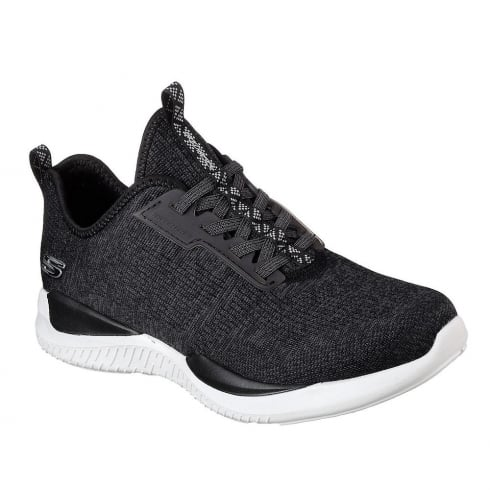 Skechers Womens Matrixx Black Sneakers