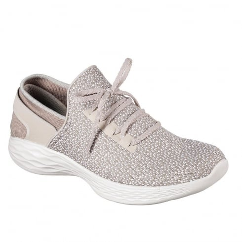Skechers Womens YOU Inspire Natural Sneakers