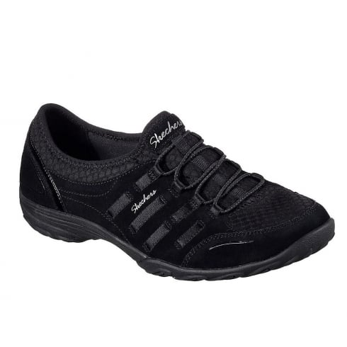 Skechers Womens Empress Splendid Black Sneakers