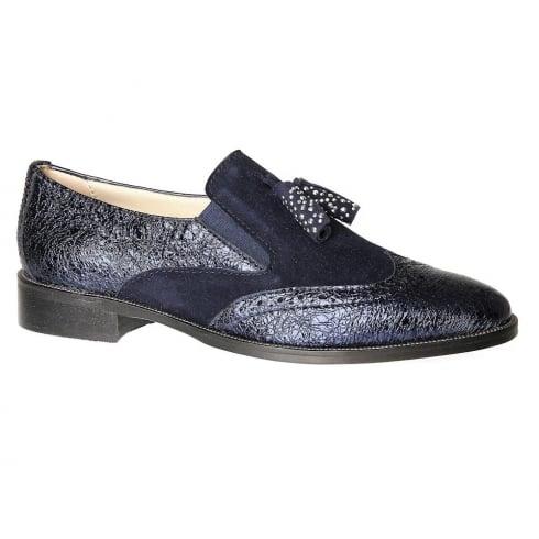 Nicola Sexton 3594 Navy Loafers