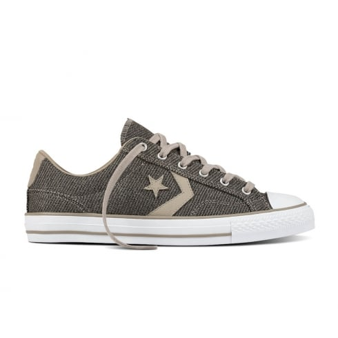 Converse Star Player 3 Ox Sharkskin Malted Lace Up Sneakers