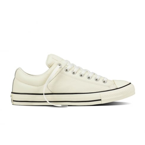 Converse Mens Cream Leather Ox