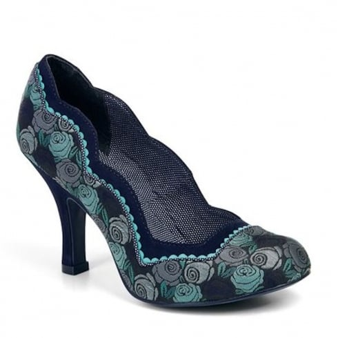 Ruby Shoo Madison Court Heels - Blue