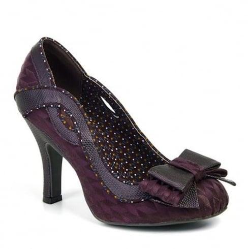 Ruby Shoo Ivy Court Heels - Burgundy
