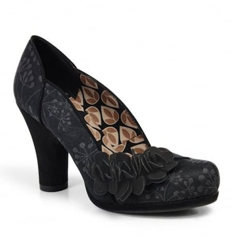 Ruby Shoo Charlotte Court Heels - Black -09125