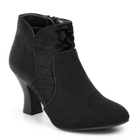Ruby Shoo Kennedy Heeled Boots - Black