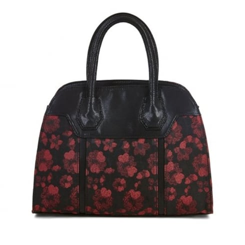 Ruby Shoo Cancun Handbag - Black/Red