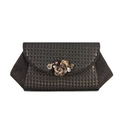 Ruby Shoo Porto Clutch Bag - Bronze