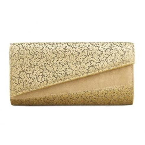 Ruby Shoo Darwin Clutch Bag - Gold
