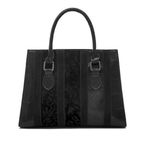 Ruby Shoo Panama Handbag - Black