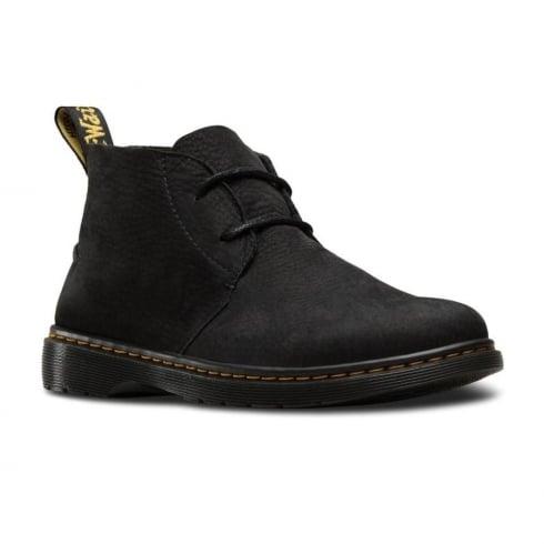 Dr. Martens Dr Martens Mens Ember Black Lace Up Leather Desert Boots