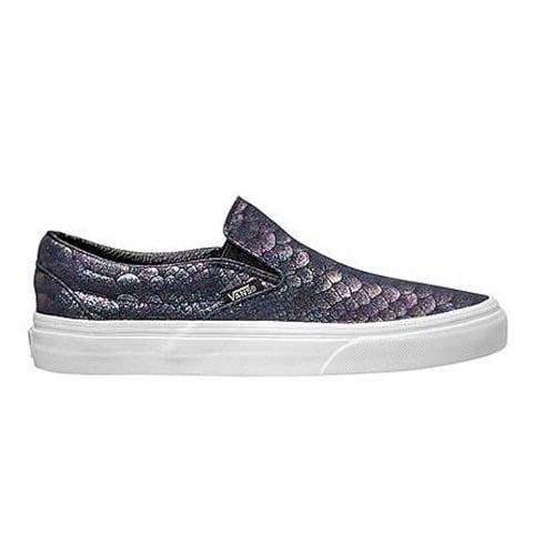 Vans Classic Slip-On Metallic Snake Shoes