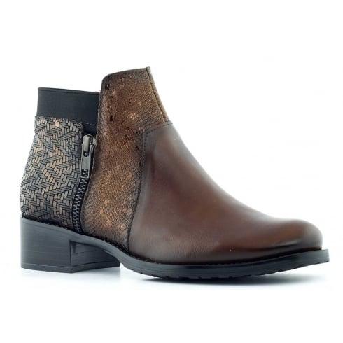 Jose Saenz 2374 Tan Ankle Boot
