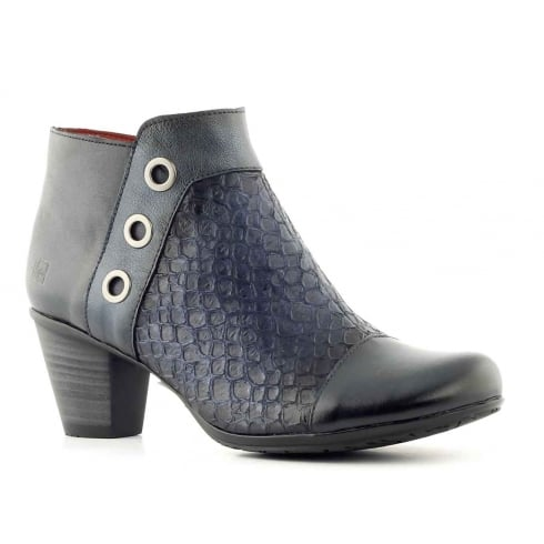 Jose Saenz 4114 Navy Ankle Boot