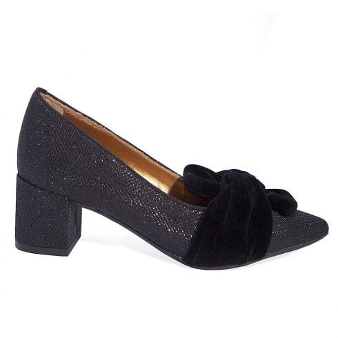 Paco Herrero Luminor Block Mid Heeled Pointed Shoe