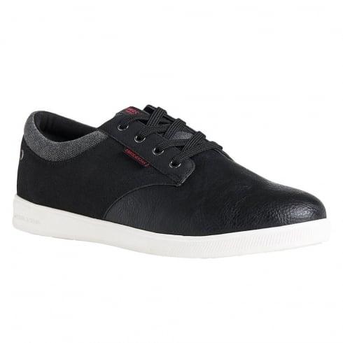 Jack & Jones Mens Casual Black Sneakers