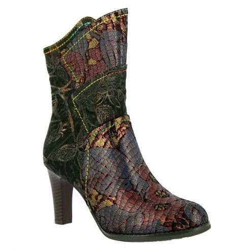 Laura Vita Albane Heeled Mid Calf Boots