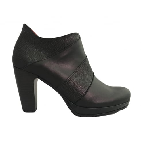 Jose Saenz 7090 Black Ankle Boot