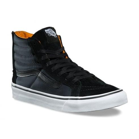 Vans Black Boom Boom SK8-Hi Slim Zip Hi Sneakers
