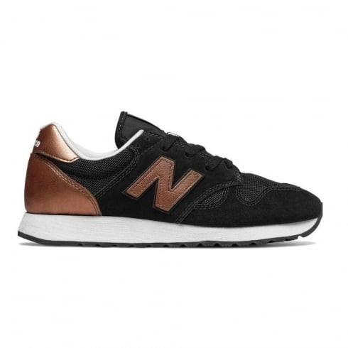 New Balance WL520 Womens Black&Gold Sneakers