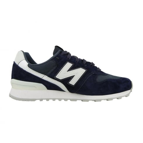 New Balance WR996 Womens Navy Suede Sneakers