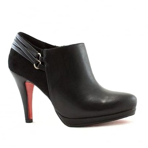 Kate Appleby Shefford Black Stiletto Low Ankle Boots