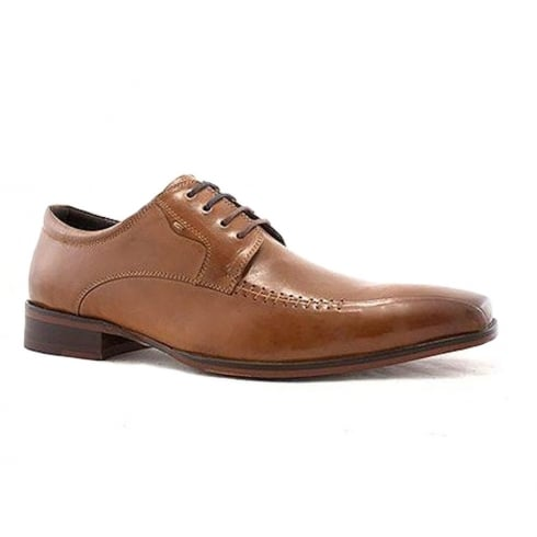 Escape Shoes Escape Mens Dandy Brandy Leather Smart Lace Up Shoes