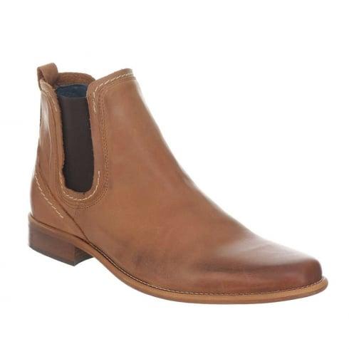 Escape Mens Austin Tan Leather Chelsea Boots
