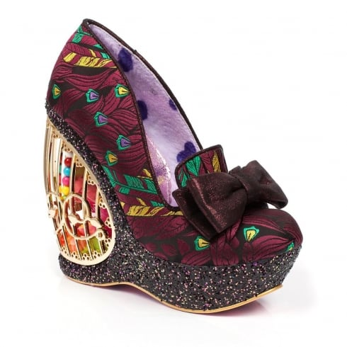 Irregular Choice Ornate Agador Bird Cage Heels