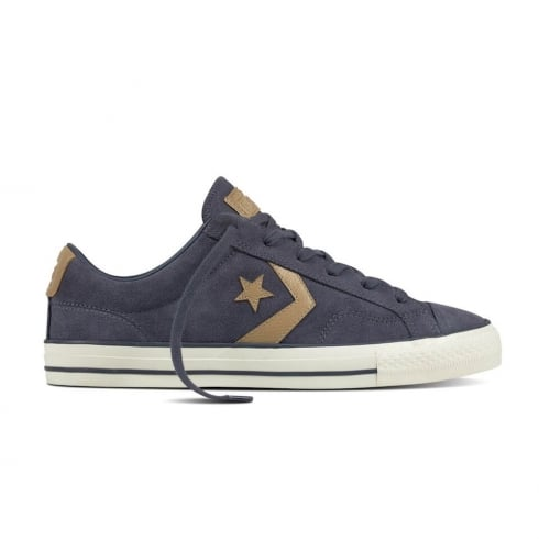 Converse Men's Star Player Ox Suede Low Top Trainers - Navy