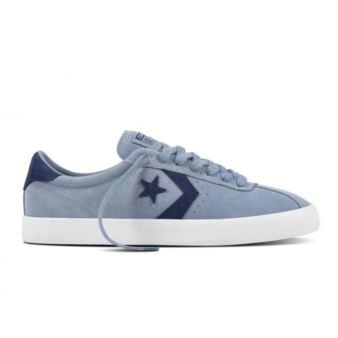 Converse Men's Breakpoint Ox Suede Low Top Trainers - Blue