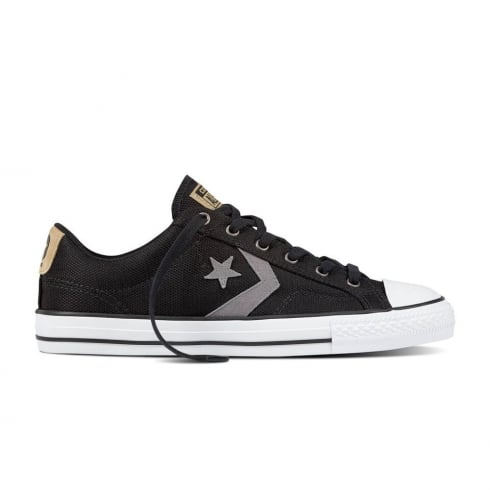 Converse Men's Star Player Ox Low Top Trainers - Black