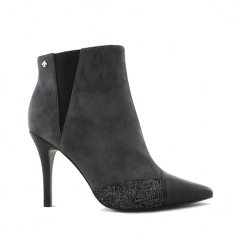 Amy Huberman by Bourbon Amy Huberman Arise Cloud Stilletto Pointed Ankle Boots - Grey