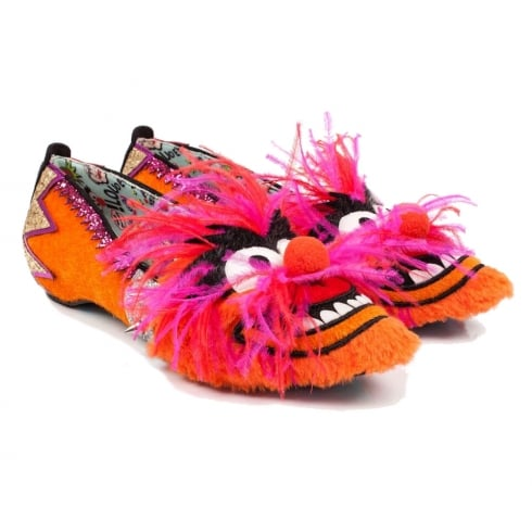 Irregular Choice Muppets - Party Animal! Slip On Flats
