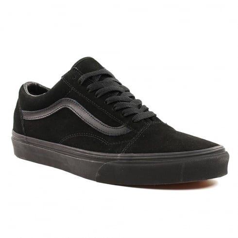 Vans Unisex Black Suede Old Skool Sneakers