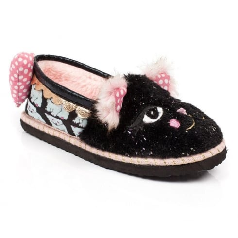 Irregular Choice - Cat Nap Slippers