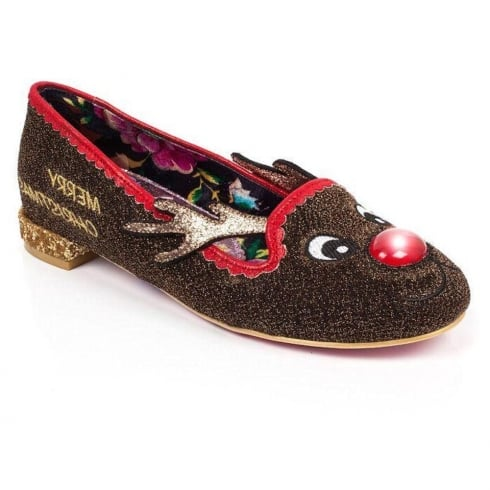 Irregular Choice - Red Nose Roo - Light Up Nose