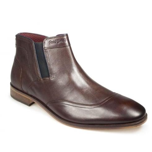 POD Paul O'Donnell Men's Oregon Dark Brown Chelsea Boot