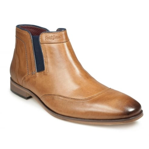 POD Paul O'Donnell Men's Oregon Cognac Chelsea Boot