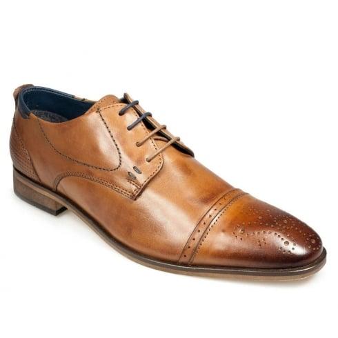 POD Paul O'Donnell Men's Vermont Cognac Brogues Shoe